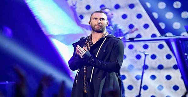 Maroon 5 Performs at 2019 Super Bowl Halftime Show